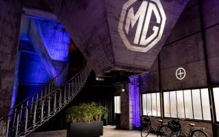 Recharge yourself MG ZS EV-Launch Zeche Zollverein 17.10.2019